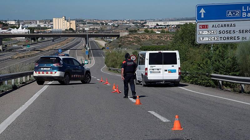 España a las 8 Fin de Semana - ¿Cómo es posible confinar un territorio sin que esté activo el estado de alarma? - Escuchar ahora
