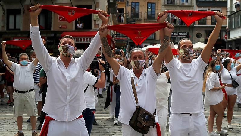 14 horas - El 6 de julio más extraño en Pamplona: sin chupinazo y con mesas libres en los bares - Escuchar ahora