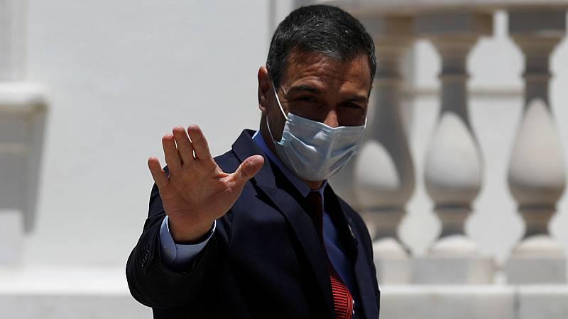 Boletines RNE - Sánchez cree que en julio se acordará el reparto del fondo de reconstrucción - Escuchar ahora
