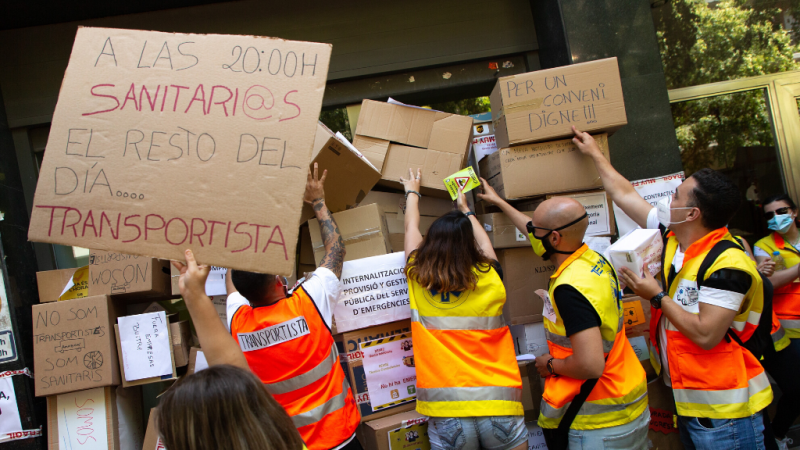 Las mañanas de RNE con Íñigo Alfonso - La crisis del coronavirus aumenta la precariedad laboral - Escuchar ahora