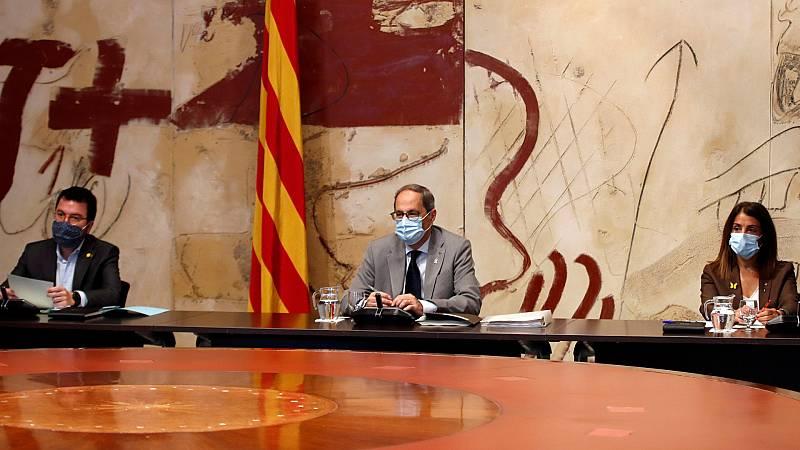 24 horas - La Generalitat reconoce errores en la gestión de las residencias - Escuchar ahora