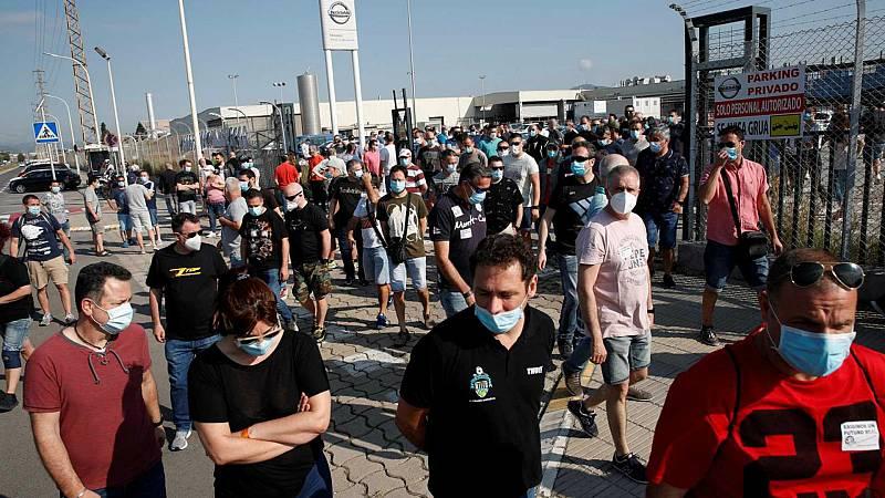 """Las mañanas de RNE con Íñigo Alfonso - Sindicato USOC: """"Nissan no aporta la información que necesitamos para defender a los trabajadores"""" - Escuchar ahora"""