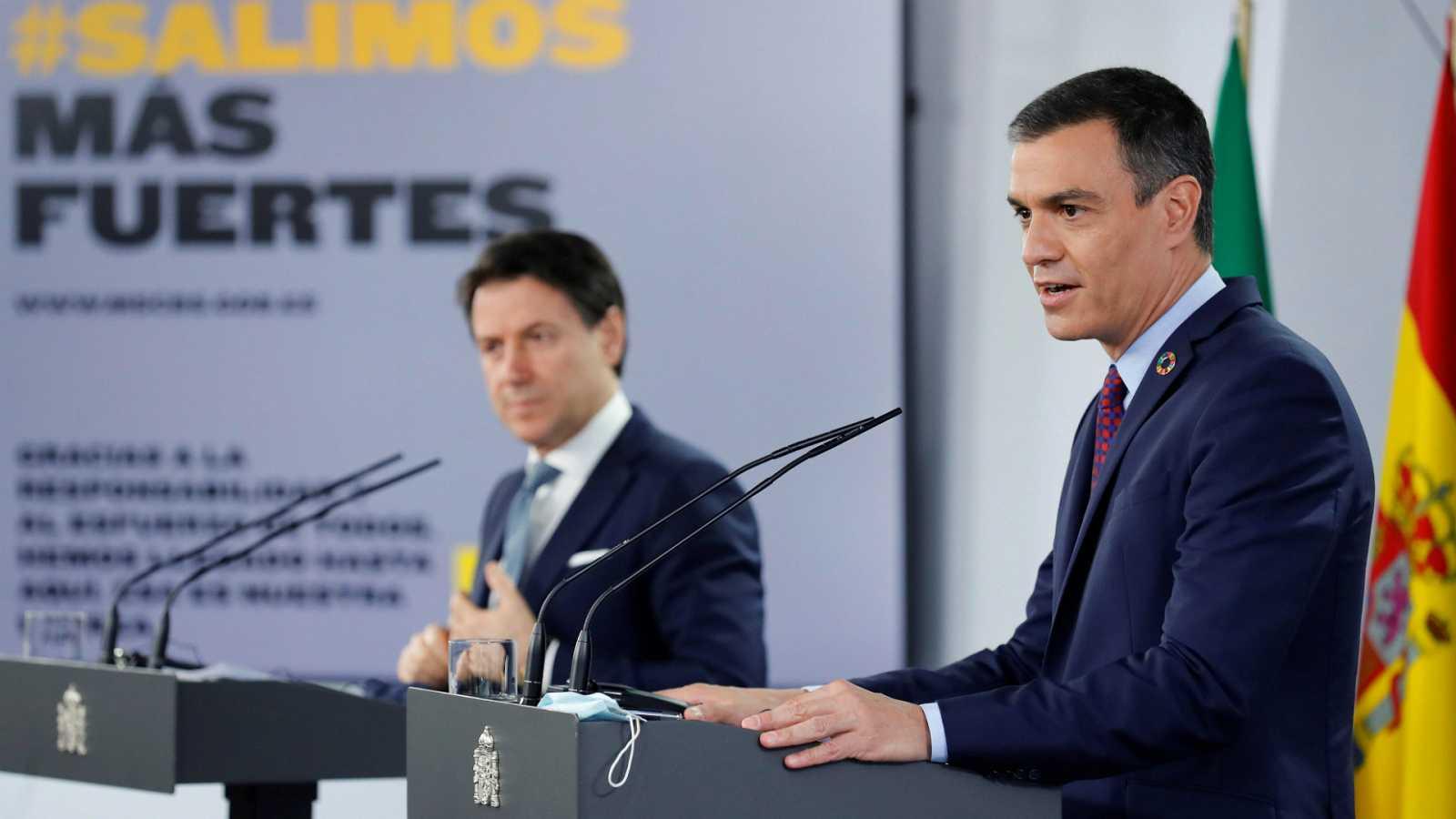 """14 horas - Sánchez considera """"inquietantes"""" las informaciones sobre Juan Carlos I: """"Nos perturban a todos"""" - Escuchar ahora"""