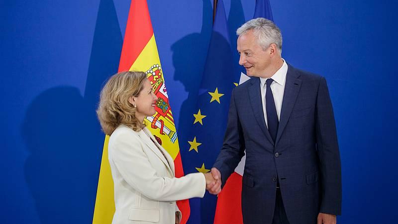 14 horas - Calviño suma el apoyo de Francia para presidir el Eurogrupo - Escuchar ahora
