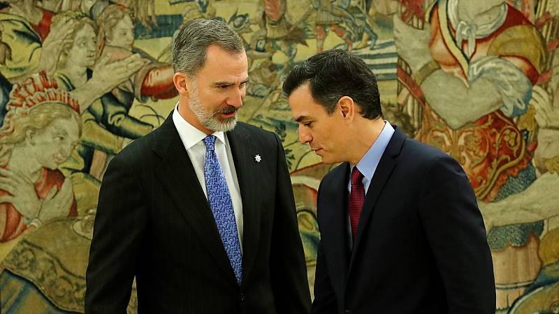 14 horas - Moncloa y Zarzuela diseñan una estrategia para proteger a Felipe VI de la figura de su padre - Escuchar ahora