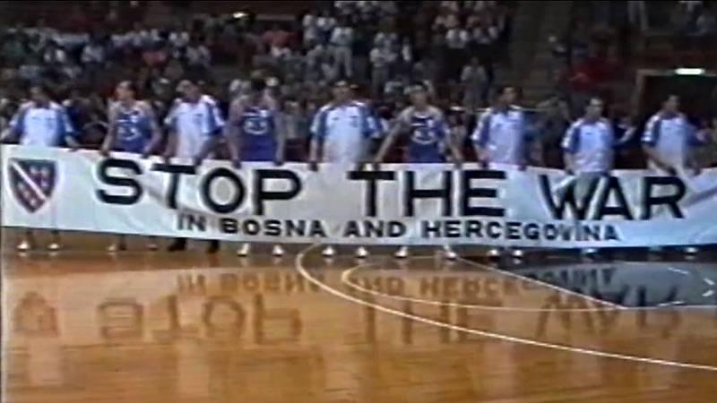 Cinco Continentes -  Guerra de Bosnia: el baloncesto contra el cerco de Sarajevo