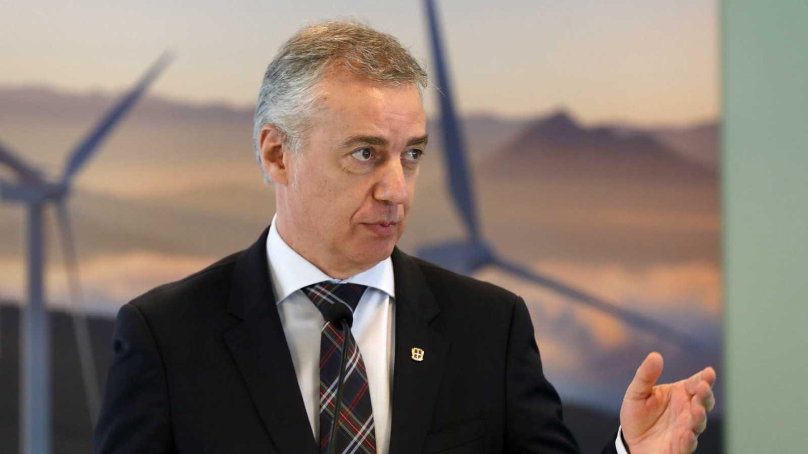 Las mañanas de RNE con Íñigo Alfonso - Urkullu pide al Gobierno que cumpla con el PNV y acusa a Iglesias de incoherente por querer pactar con Bildu - Escuchar ahora