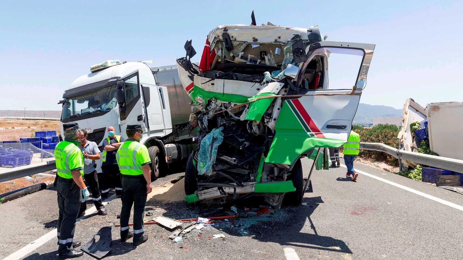14 horas - Los accidentes y fallecidos en carretera han aumentado más de un 20% desde el fin del estado de alarma - Escuchar ahora