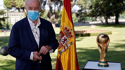 """Audio   Vicente del Bosque: """"Con nuestra forma de jugar le robábamos al contrario muchas posibilidades de atacarnos"""""""