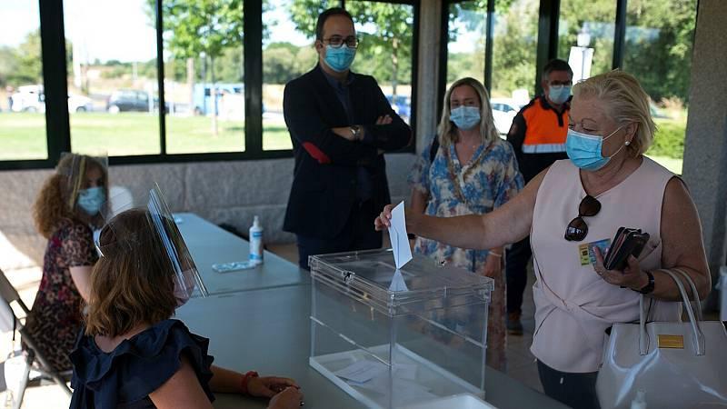 24 horas fin de semana - 20 horas - Mascarillas y geles hidroalcohólicos los ganadores de la jornada electoral - Escuchar ahora