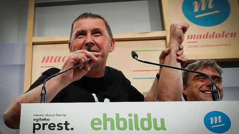 """Elecciones vascas - Otegui: """"Las izquierdas soberanistas, las izquierdas nacionales están siendo depositarias de la confianza de la gente"""" - Escuchar ahora"""