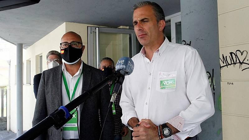 """Elecciones vascas - Ortega Smith: """"El avance de los proetarra y los sepatistas es una mala noticia""""  - Escuchar ahora"""