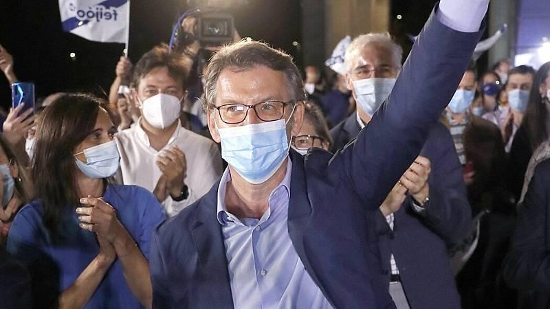 14 horas - Feijóo encadena su cuarta mayoría absoluta y el BNG liderará la oposición - Escuchar ahora