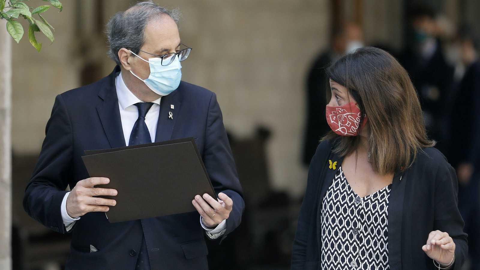14 horas - El Govern aprueba una nueva resolución para confinar Lleida a partir de esta medianoche - Escuchar ahora