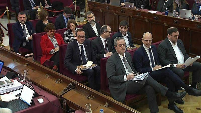 14 horas - La Generalitat confirma la semilibertad para los presos del `procés¿ - Escuchar ahora