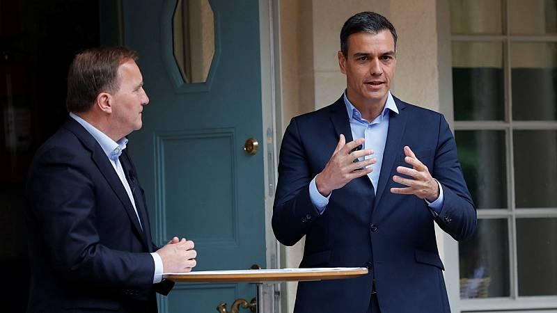 14 horas - Sánchez no convence al primer ministro sueco sobre el fondo de recuperación - Escuchar ahora