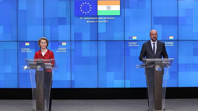 Europa abierta - India y la UE obligados a entenderse en el mundo pos-COVID - escuchar ahora