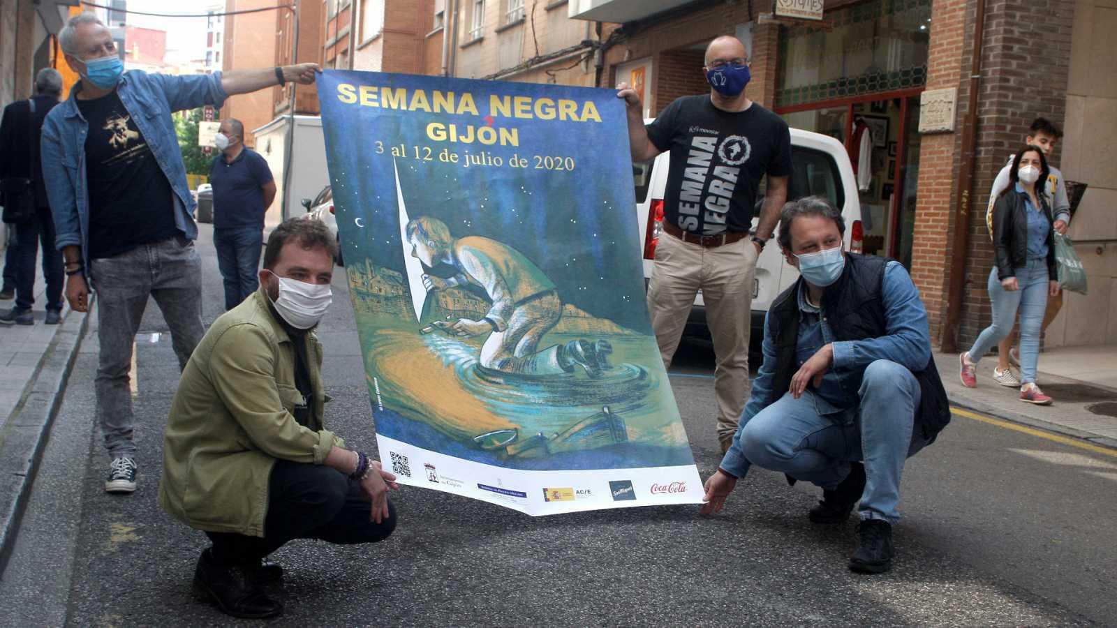 Hora América - Vuelven las ferias del libro en España: San Sebastián y Gijón, con títulos sobre el coronavirus - 15/07/20 - escuchar ahora