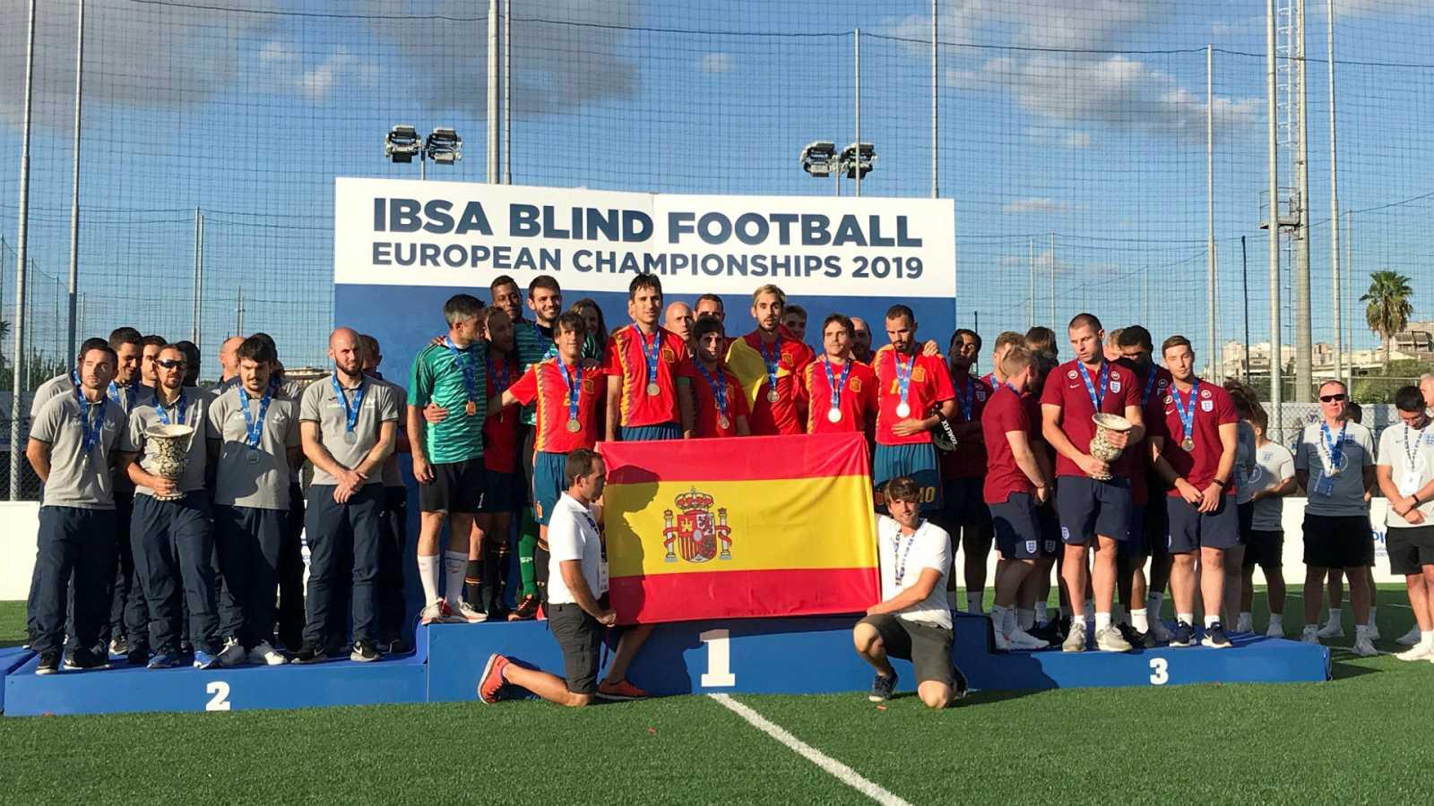 Desafío Tokio - La selección de fútbol para ciegos, capitaneada por Adolfo Acosta - Escuchar ahora