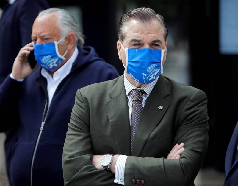 """Vidal, presidente del Deportivo:  """"Es muy grave que el equipo viajase ya infectado"""" - Escuchar ahora"""