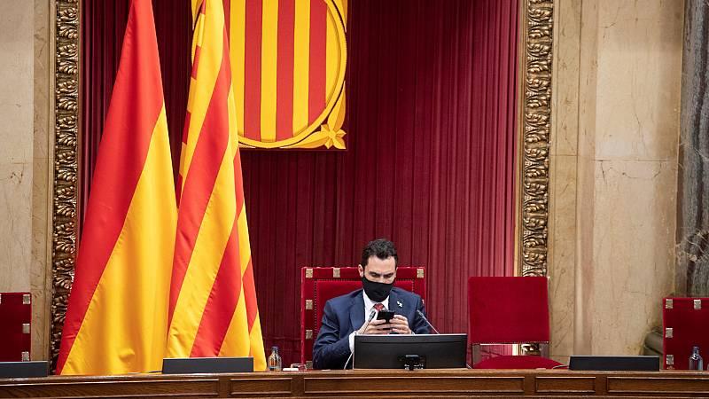 24 horas - Las fuerzas independentistas reprueban a Sánchez y a Rajoy y piden la abdicación de Felipe VI - Escuchar ahora