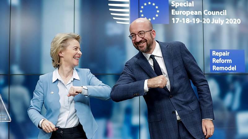 Europa abierta - Un acuerdo europeo para estudiar en los libros de Historia - escuchar ahora