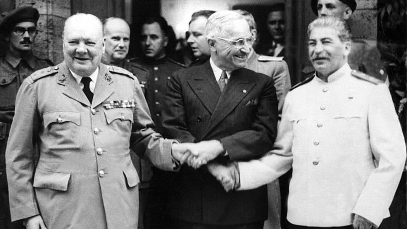 Europa abierta - Potsdam: 75 aniversario de la conferencia que rediseñó Europa - escuchar ahora