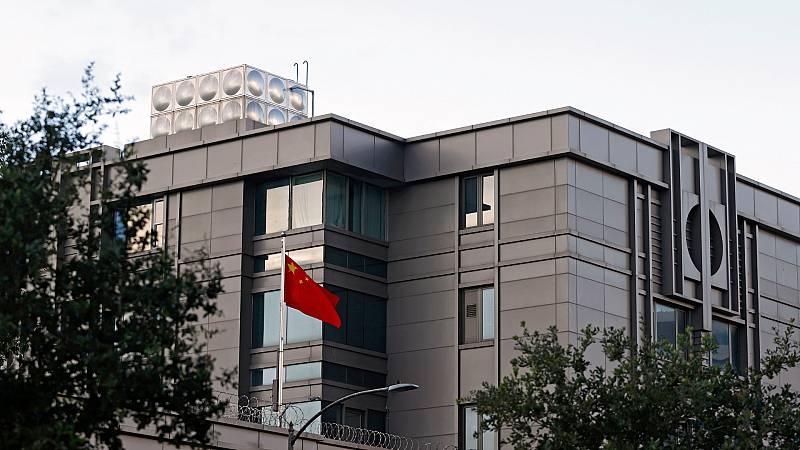 24 horas - Washington ordena el cierre del consulado chino en Houston en máximo 72 horas - Escuchar ahora