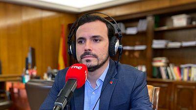 """Las mañanas de RNE - Garzón propone """"acuerdos con todo el mundo"""" para aprobar los Presupuestos - Escuchar ahora"""