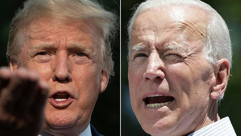 14 horas fin de semana - La crisis sanitaria da ventaja a Biden sobre Trump para las presidenciales - Escuchar ahora