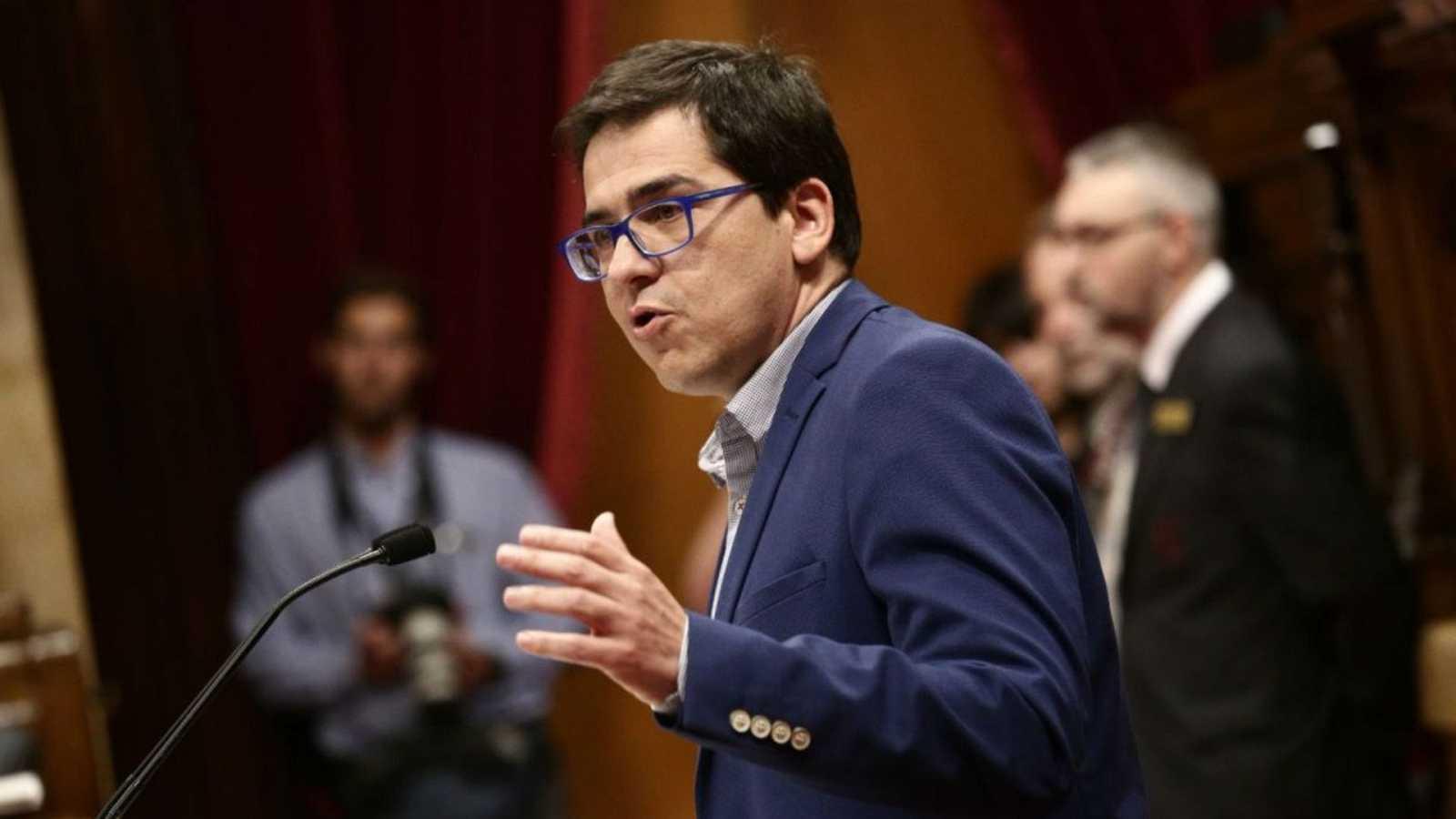 """Las mañanas de RNE con Íñigo Alfonso - Espejo-Saavedra (Cs): """"Sentarse a negociar no es una opción es una obligación"""" - Escuchar ahora"""