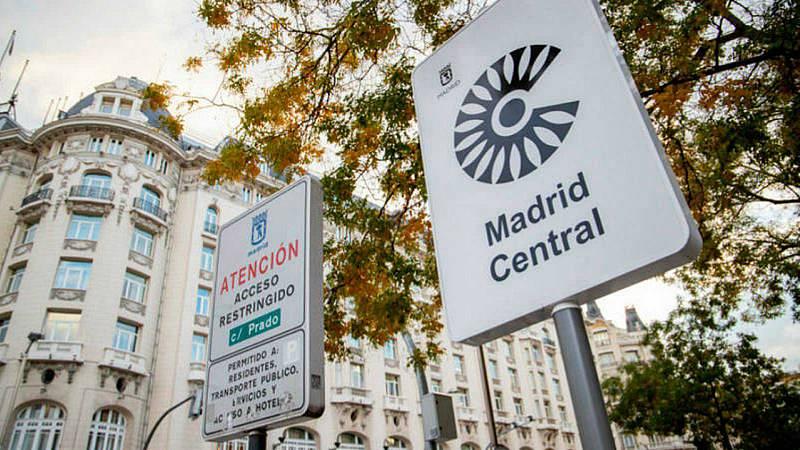 """Boletines RNE - El Ayuntamiento de Madrid no recurrirá la sentencia que """"tumba"""" Madrid Central - Escuchar ahora"""