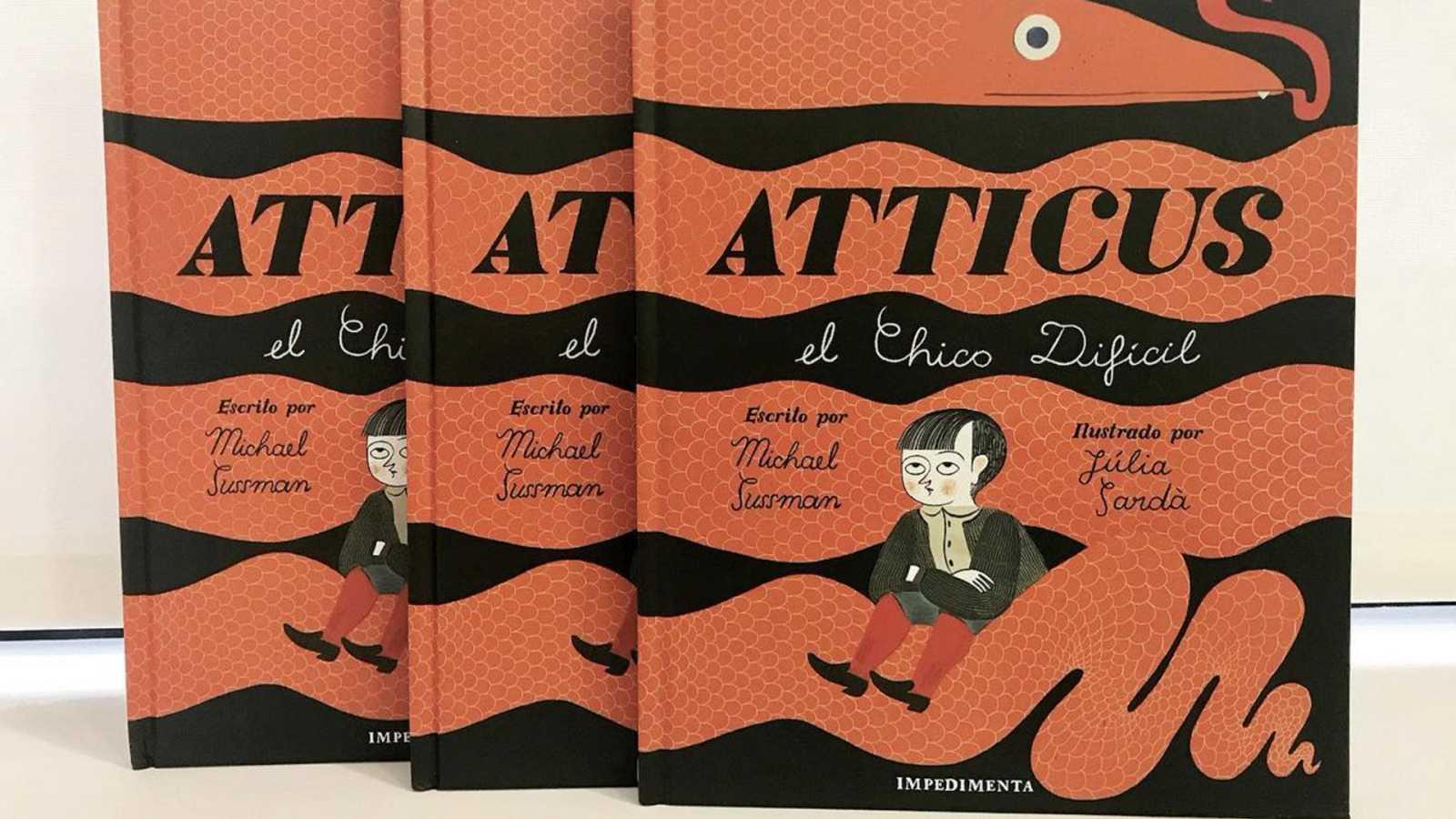 """Viñetas y bocadillos - Julia Sardá """"Atticus"""" - 01/08/20 - Escuchar ahora"""