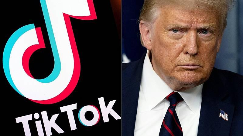 "24 horas fin de semana - 20 horas - TikTok le responde a Trump que no planea irse ""a ninguna parte"" - Escuchar ahora"