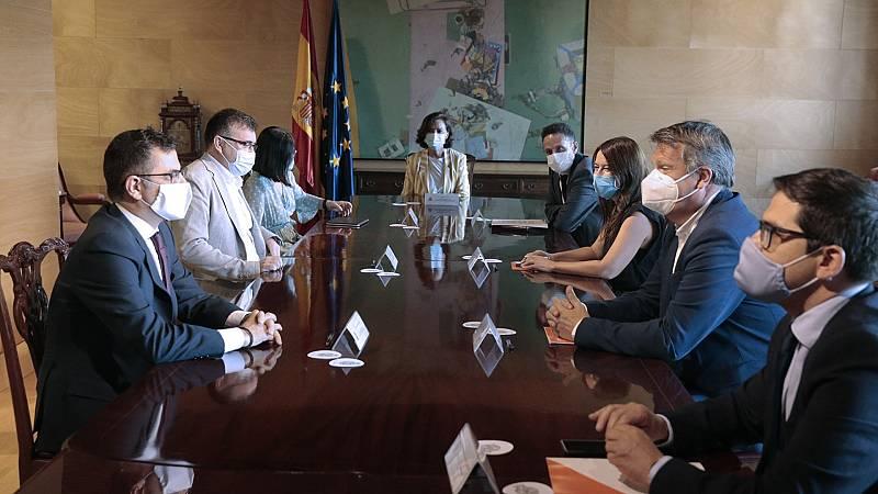 24 horas - Malestar entre Unidas Podemos por la reunión entre Cs y el Gobierno - Escuchar ahora