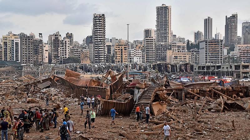 24 horas - Una fuerte explosión en Líbano deja, al menos, 50 muertos y 3.000 heridos - Escuchar ahora