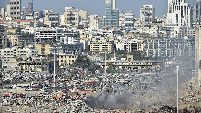 4 horas - El Líbano sigue buscando a los desaparecidos tras dos explosiones en el puerto con más de 100 muertos - Escuchar ahora