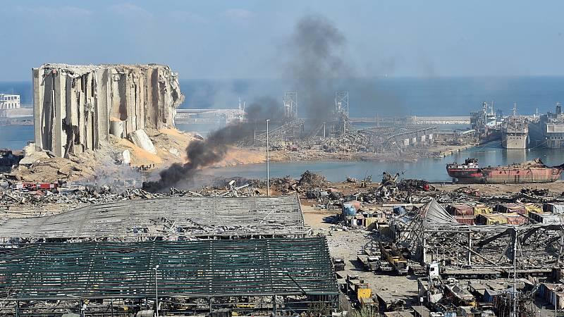 14 horas - Qué es el nitrato de amonio, el químico almacenado en el puerto de Beirut - Escuchar ahora