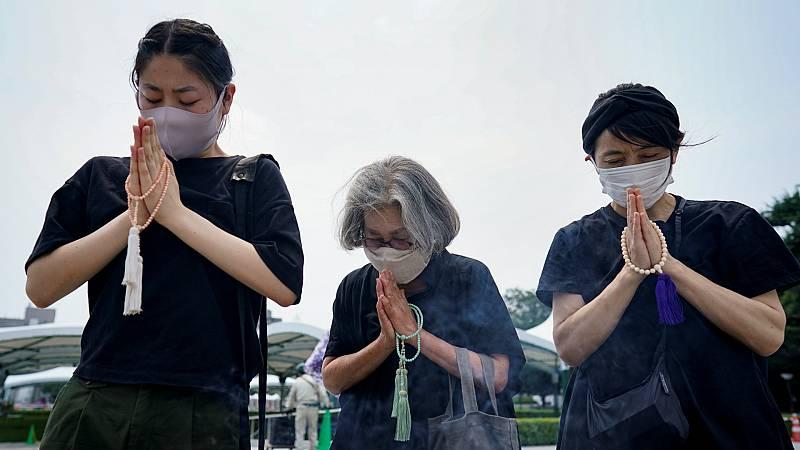 Las mañanas de RNE - Hiroshima revindica el fin de las armas nucleares 75 años después de la bomba atómica - Escuchar ahora