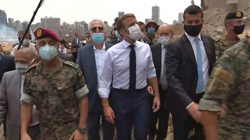 4 horas - Macron, primer jefe de Estado en visitar Beirut tras la tragedia - Escuchar ahora
