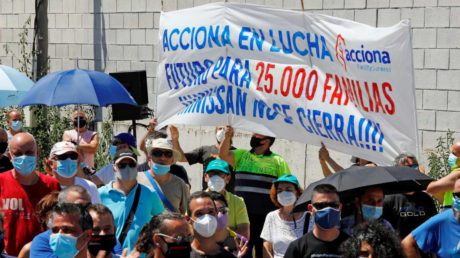 14 horas - Los trabajadores de Nissan ratifican el acuerdo con la multinacional que retrasa el cierre de las plantas hasta 2021 - Escuchar ahora