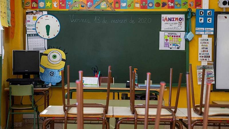 14 horas - El profesorado de Madrid y Andalucía amenaza con ir a la huelga si no hay medios para una vuelta al cole segura - Escuchar ahora