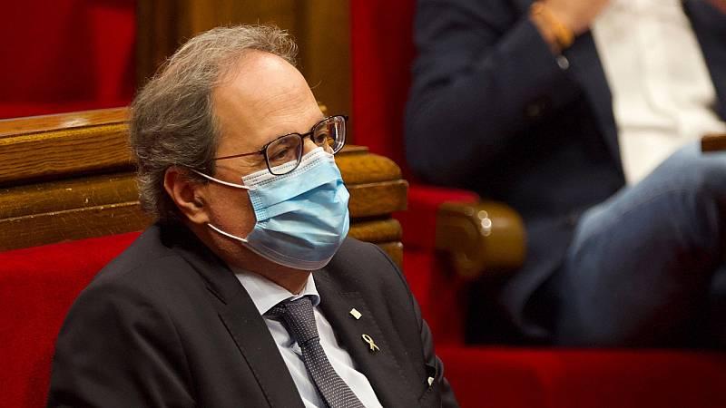 24 horas - El Parlament declara a Cataluña republicana y reprueba a Felipe VI - Escuchar ahora