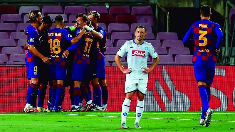 Tablero deportivo - El F.C. Barcelona clasificado para los cuartos de final de la Champions League - Escuchar ahora