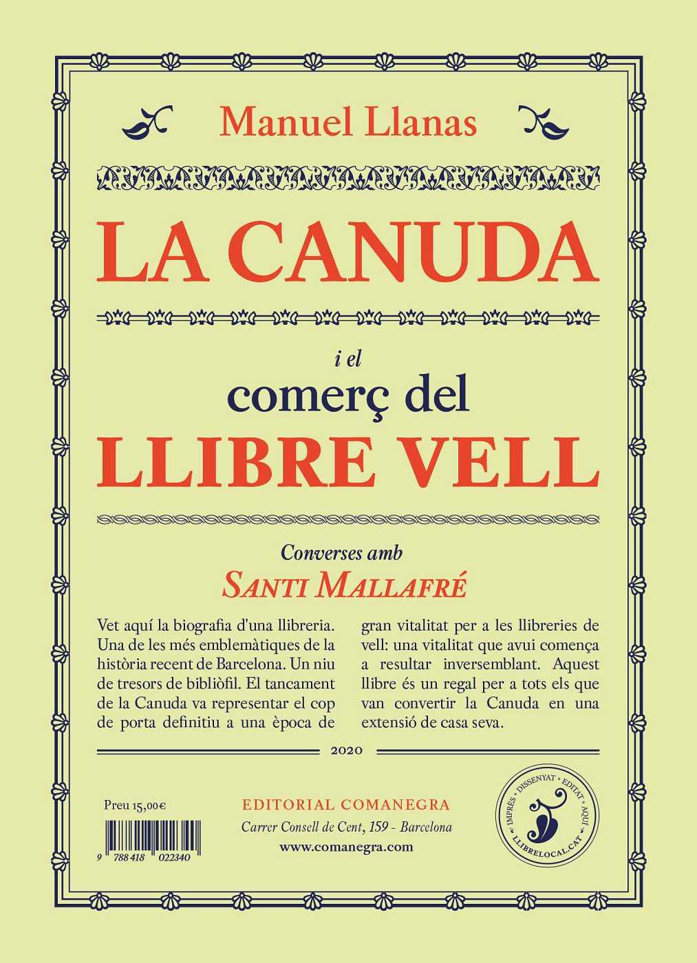 Llibres, Píxels i Valors - 08/08/20 La Canuda