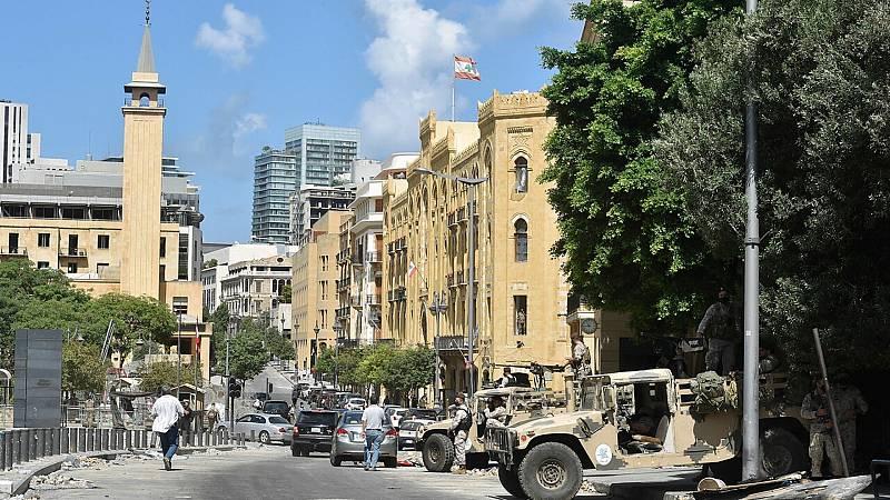 14 horas fin de semana - Primera dimisión en el gobierno de Líbano donde se esperan nuevas manifestaciones - Escuchar ahora