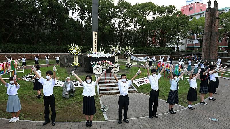 24 horas fin de semana - 20 horas - Nagasaki pide a Japón que firme el tratado de la ONU prohibiendo las armas nucleares - Escuchar ahora