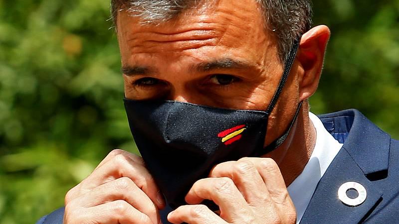 14 horas - Sánchez evita pronunciarse sobre la imputación de Podemos - Escuchar ahora