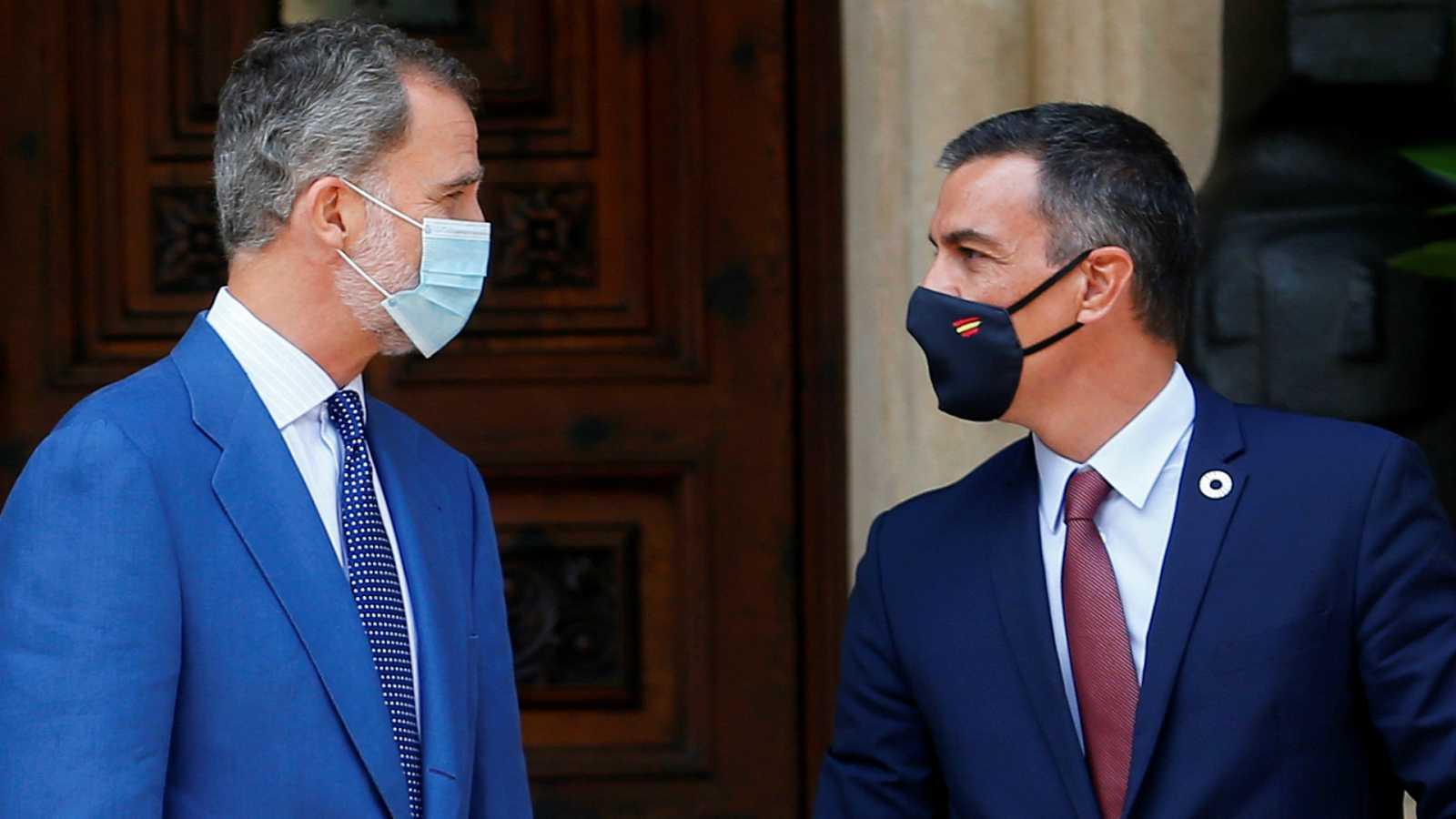14 horas - Sánchez insiste en que es la Casa del Rey la que puede desvelar el paradero de Juan Carlos I - Escuchar ahora
