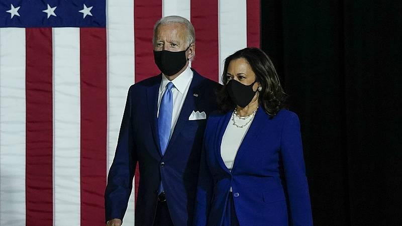 Las mañanas de RNE con Íñigo Alfonso - Biden y Harris lanzan la campaña demócrata en su primer acto conjunto - Escuchar ahora